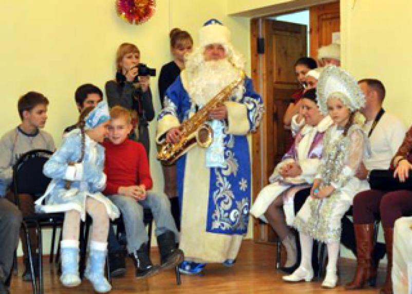 В Смоленске прошли детские новогодние праздники