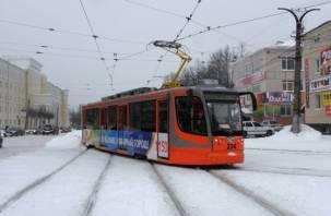 Смоляне замерзают в трамваях и троллейбусах