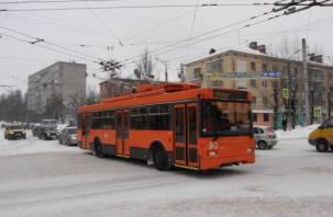 В Смоленске запустят экспериментальный троллейбусный маршрут
