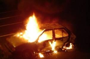В Смоленской области мужчина сгорел в своем автомобиле