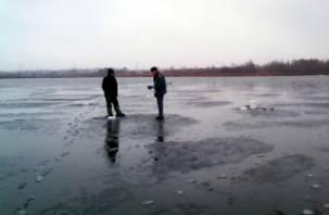 Можно ли выходить на лед водоемов Смоленской области
