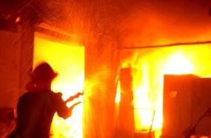 При пожаре в Ярцеве пострадали люди