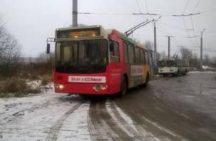 От нового троллейбуса остался только маршрут