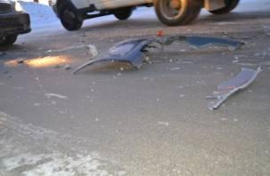 Виновника смертельного ДТП нашли по фрагментам поврежденного кузова автомобиля