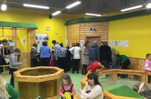 В Смоленске открылся контактный зоопарк
