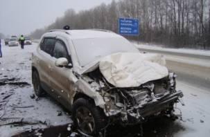 Два человека погибли в страшной аварии на трассе