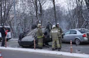 На Большой Советской в Смоленске произошло ДТП