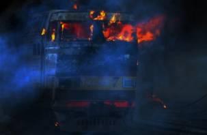 В Смоленской области загорелся электровоз