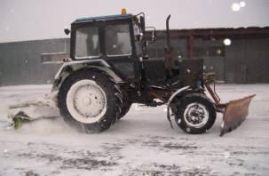 В Смоленской области тракторист врезался в «жигули»