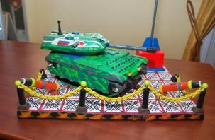 Пластилиновый танк осужденных колонии победил в этапе всероссийского конкурса
