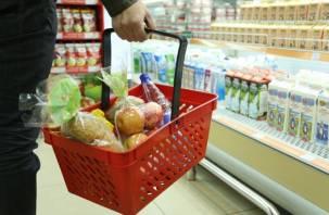 Минимальный набор продуктов на Смоленщине — самый дорогой в ЦФО