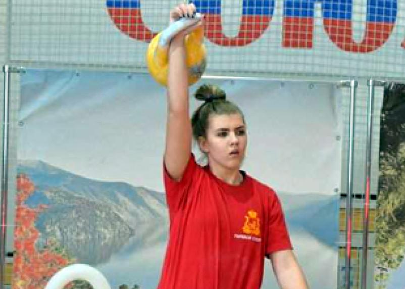 Алина Васькина – самая сильная смолянка