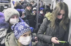Грипп собирается уходить из Смоленской области