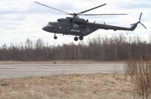 Смолянин разбился на вертолете под Псковом