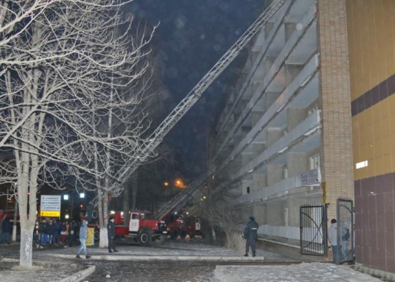 В Смоленске проводится проверка по факту пожара в общежитии медуниверситета