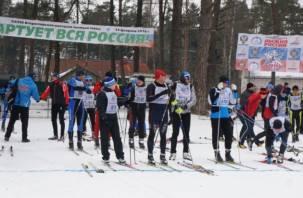 Смоленские полицейские стали абсолютными победителями на «Лыжне России»
