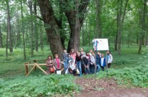 Активисты просят помощи в спасении старинного парка в Сычёвском районе