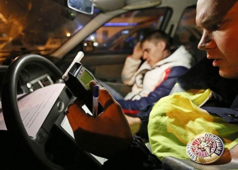 За выходные в Смоленске были задержаны 24 пьяных водителя