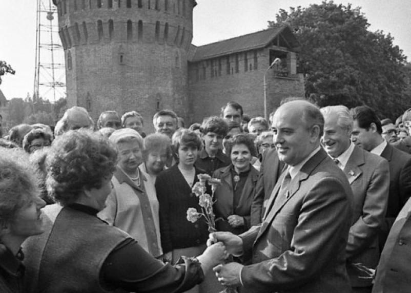 Михаил Горбачёв в Смоленске: как это было