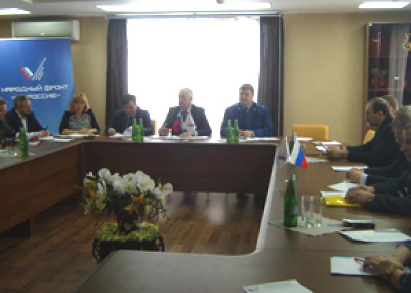 В смоленском ОНФ обсудили проблемы присоединения объектов строительства