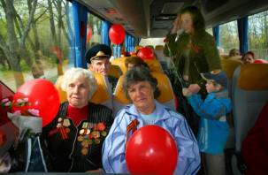 На майских праздниках ветераны будут ездить бесплатно