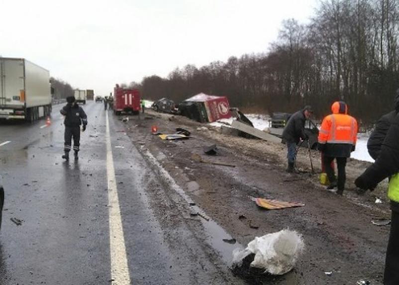 Смерть трех рабочих на трассе М1 признали несчастным случаем на производстве