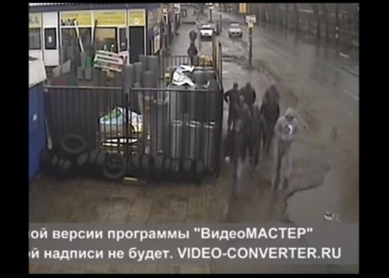 Налетчики на «Смоленскую народную газету» попались на камеру видеонаблюдения