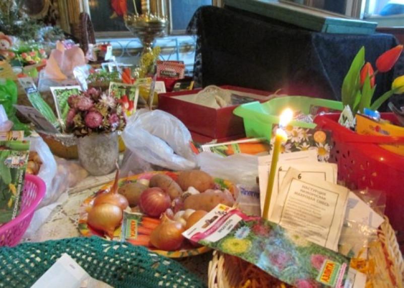 В Смоленской области освятили семена для посева