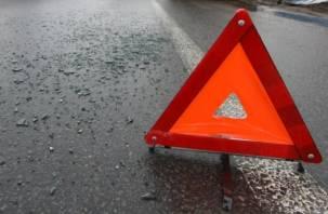 В Смоленске иномарка наехала на пешехода