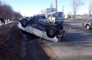 В Смоленском районе водитель погиб, врезавшись в дерево