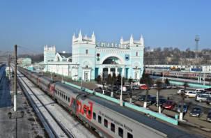 Поезда из Москвы в Смоленск пойдут быстрее
