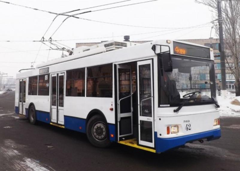 В Смоленск прибыл новый троллейбус