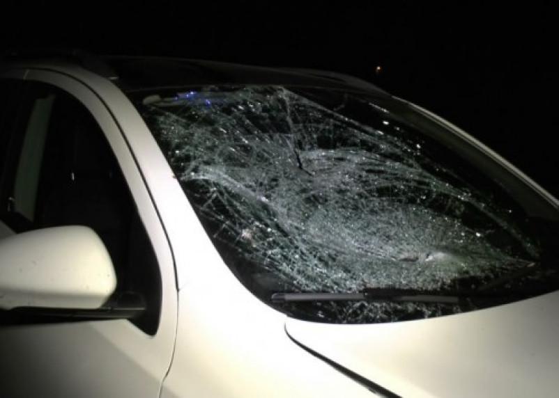 В Смоленском районе авто перевернулось прямо на трассе