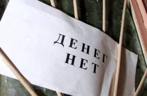 Долг не по карману. В Смоленске наметилось падение кредитного рынка