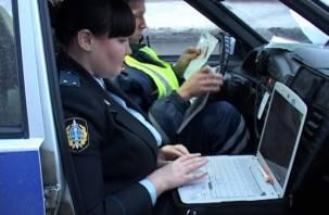 Смоленская дорожная полиция помогает приставам ловить водителей-должников