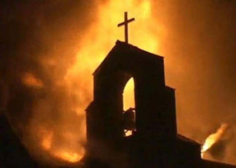 Cмоленский казак хочет сжечь церковь