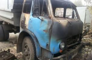 Мужчина сжег собственный грузовик, чтобы получить страховую выплату