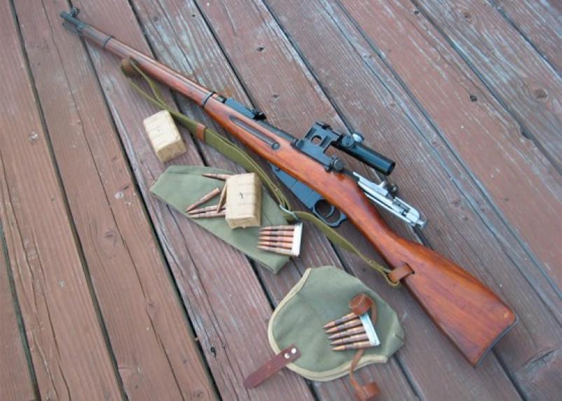 Пенсионер из Починка хранил дома две винтовки и револьвер