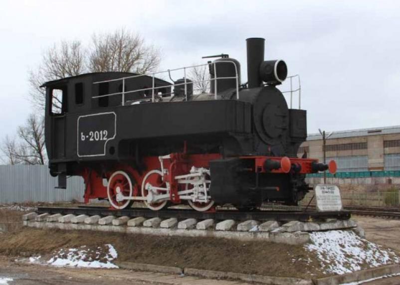 В Рославле исчезнет знаменитый памятник-паровоз