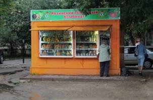 В Смоленске исчезают овощные ларьки