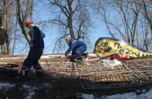 В центре Смоленска нашли подземелье