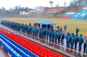 В Смоленске прошли соревнования спасателей
