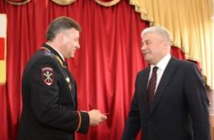 Бывший начальник смоленского УМВД будет искоренять коррупцию и наркотики во Владикавказе
