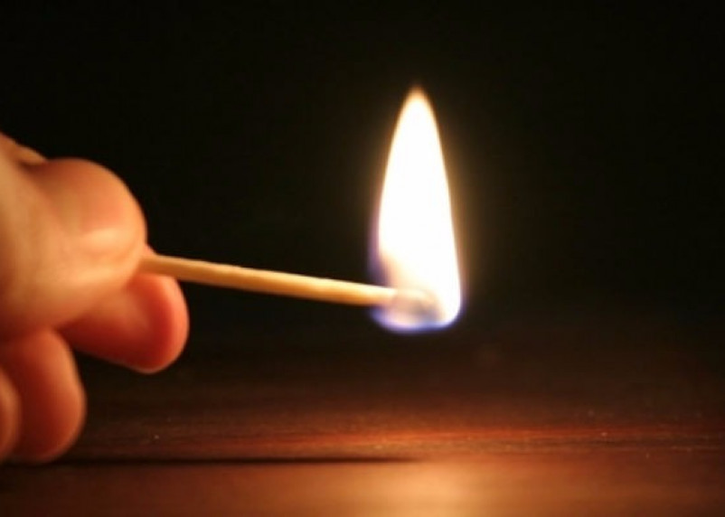 При пожаре в Смоленске пострадал семилетний ребенок