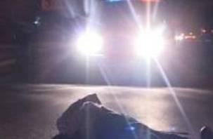 На окружной дороге в Смоленске «Мерседес» насмерть сбил пешехода