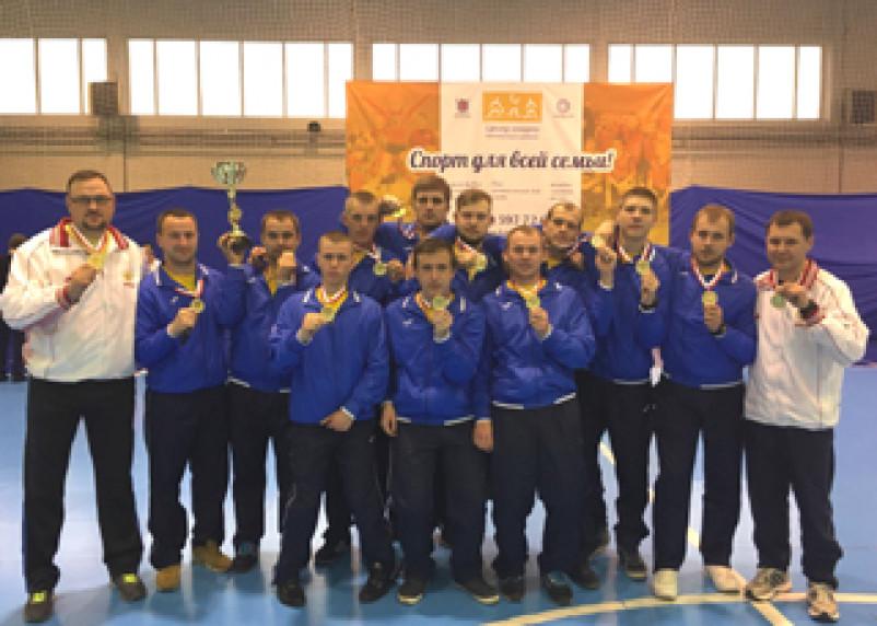 Смоленская команда по юнифайд-хоккею на полу заняла первое место и теперь поедет в Австрию
