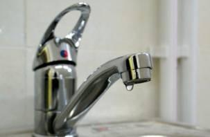 На четырех улицах Смоленска отключат холодную воду