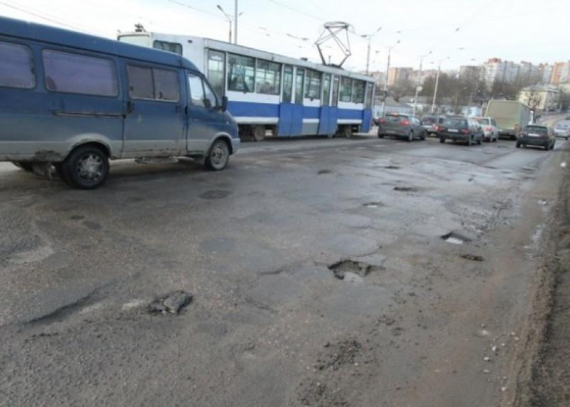 Плохие смоленские дороги попали в топ скандалов
