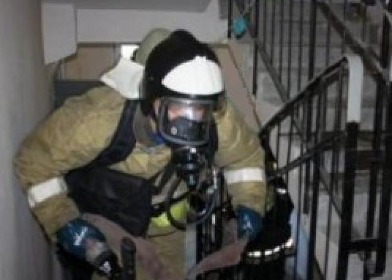 В Рославле сгорела комната в общежитии
