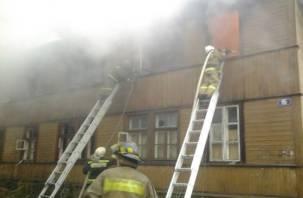 В Смоленске двое мужчин погибли в пожаре (фото)